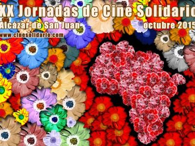 Cartel XX Jornadas Cine Solidario