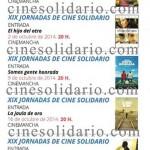 XIX JORNADAS DE CINE SOLIDARIO 2014