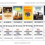 XX JORNADAS DE CINE SOLIDARIO. 2015